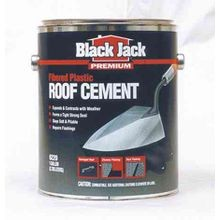 Fibered Plastic Roof Cement