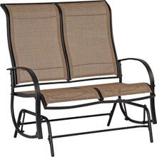 Patio Glider Love Seat