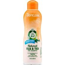 Natural Flea & Tick Plus Soothing Dog Shampoo