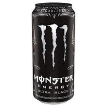 Ultra Black 16 oz Energy Drink