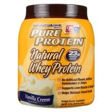 Whey Protein - 100 Percent Natural - French Vanilla - 1.6 Lb