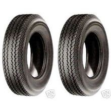 6 Ply Rated Highway Speed Tubeless Trailer Service Tires