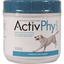 ActivPhy Joint Support Soft Chews For Dogs 75 ct