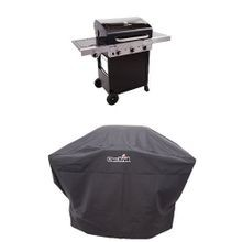 Performance TRU Infrared 450 3-Burner Cart Gas Grill and Cover