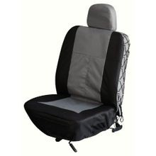 Gray Trekker Universal Bucket Seat Cover with Headrest Cover
