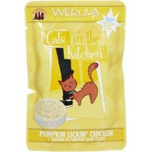 Cats in the Kitchen Pouch Pumpkin Lickin Chicken Cat Food