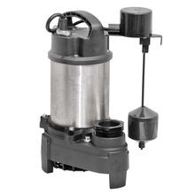 Stainless Steel 3/4 HP Sump Pump