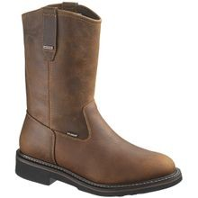 Men's Brek Durashocks Wellington Western Cowboy Work Boot