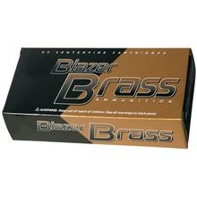 Blazer Brass Pistol Ammunition 9MM FMJ 124 Grain