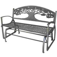 Cast Iron Tree Design Glider