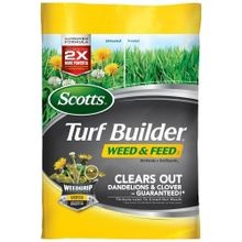 Turf Builder Weed and Feed 15000 sq. ft Fertilizer