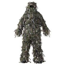 Men's Deluxe Natural Blind Green Ghillie Suit