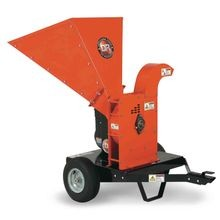 Rapid-Feed Wood Chipper