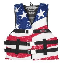 Stars & Stripes General Boating Youth Life Vest