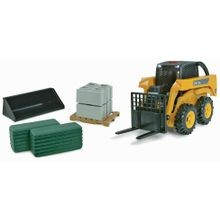 Big Farm John Deere Skid Loader Playset