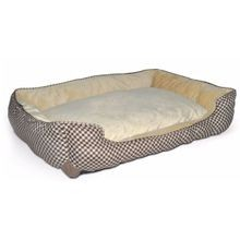 Self Warming Lounge Sleeper Square Pet Bed
