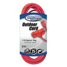 Outdoor 3-Way Power Block Extension Cord