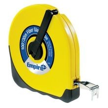 Closed Case Fiberglass Measuring Tape - 100' X 1/2