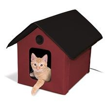 20w Outdoor Heated Kitty House