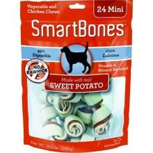 Sweet Potato Dog Treat Mini - 24 pk