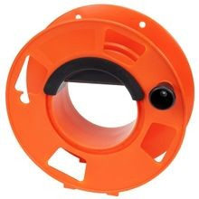 Cord Storage Reel With Center Spin Handle