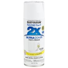 Painter's Touch 2X Ultra Coverage Paint + Primer Spray - Gloss White