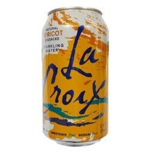 Apricot Flavored Sparkling Water 12 Pack of Cans