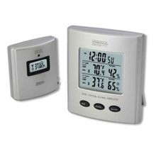 Wireless Thermometer with Indoor/Outdoor Humidity & Clock
