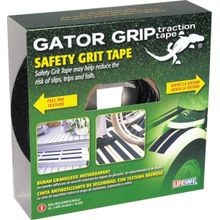 60 Feet X 2 Inch Gator Grip Black Anti-Slip Safety Grit Tape