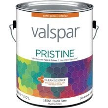 1 Gallon Semi-Gloss Pastel Base Pristine Latex Paint & Primer