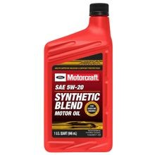 SAE 5W-20 Synthetic Blend Motor Oil