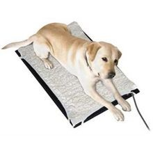 Plastic Heated Pet Mat with Fleece Cover