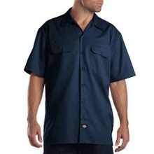 Short Sleeve Button-Down Work Shirt