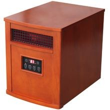 Qeh1500 Infrared Portable Electric Heater, 5120 Btu, 1000 Sq Ft, 750 W