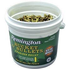 Bucket O'Bullets 22 Long Rifle Plated Hollow Point Ammunition - 1400 Rounds