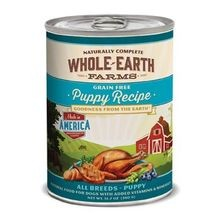 Whole Earth Grain Free Canned Puppy Food