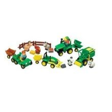 Fun on the Farm - 4 Vehicle Play Set