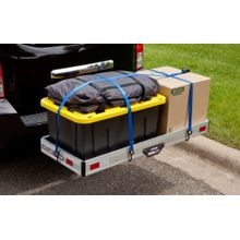 Hitch Mounted Aluminum Cargo Carrier