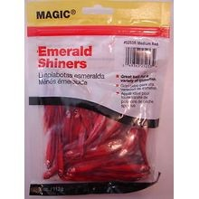 Preserved Shiner Minnows - Red