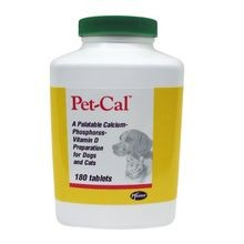 Pet-Cal, 180 Tablets