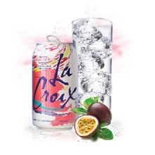 Passionfruit Flavored Sparkling Water 12 Pack of Cans