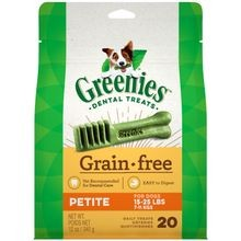 Grain Free Petite Dog Dental Treats
