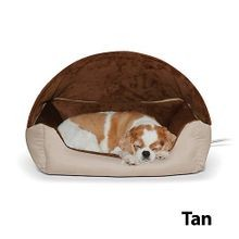 4w Thermo-hooded Lounger Bed