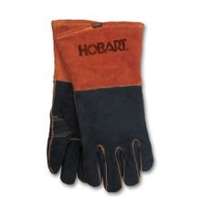 Rust/Black Welding Gloves