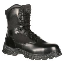 Men's Alphaforce Zipper Waterproof Duty Boots