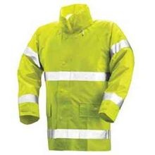 Men's High Visibility Jacket with Stripe