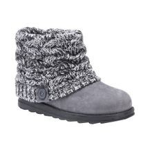 Ladies' Faux Fur Trimmed Lug Boots