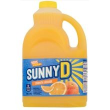 JUICE DRINK,SUNNY D SMOOTH 128OZ