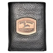 Men's Black Historical Logo Trifold Wallet