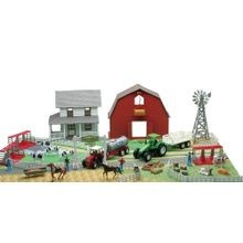Deluxe Farm Playset with Play Mat